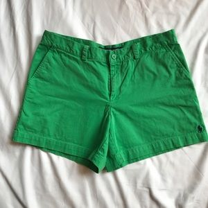 Ralph Lauren Sport green shorts